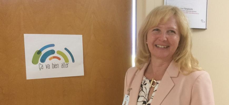 Lina Spagnuolo, membre du CECII