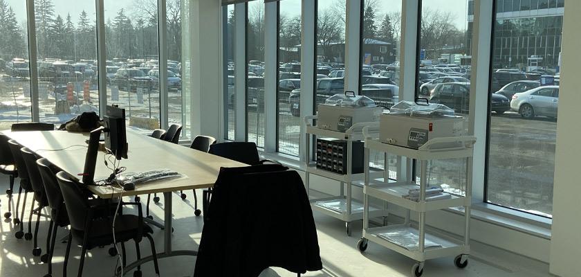 Salle de conférence - Construction d'unité modulaire