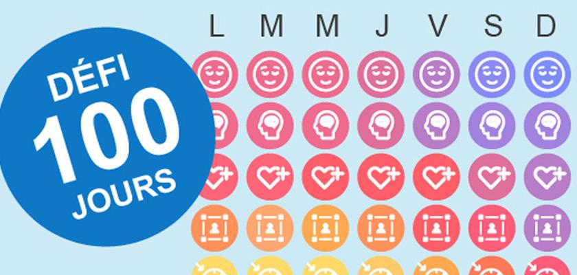 Défi 100 jours - santé mentale - Journal Le Fil